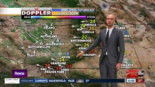 Fire threat increases for Kern County Sunday - Video
