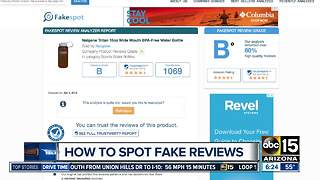 How to spot fake reviews online