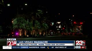 Vegas community unites for victims of attack - Video