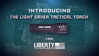 Tactical Military LED Torch by Liberty Technologies - Patriot Wholesale Club