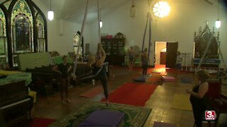 Decommissioned church offers affordable studio space for artists