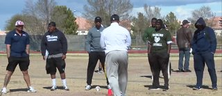 Las Vegas Raiders help local coaches