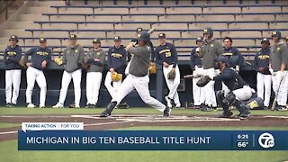 Michigan in Big Ten baseball title hunt