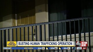 Busting human trafficking operation