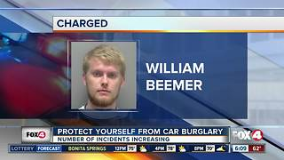 Florida College student facing a slew of charges connected to car burglary spree - Video