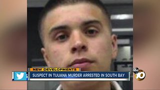 Suspect in Tijuana murder arrested in South Bay