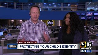 How to keep children safe from identity theft