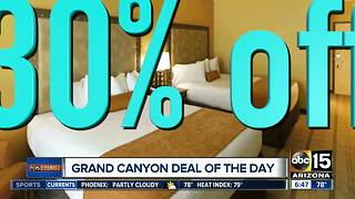 Looking to get away? Get 30% off a Grand Canyon vacation
