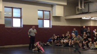Little Brother Saw Sister Losing Wrestling Match; He Decides To Help Fix Things! - Video