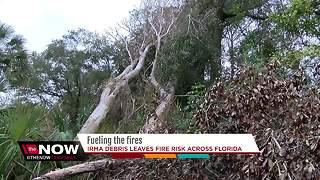Irma debris to help fuel fires across Florida this year - Video