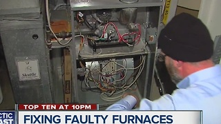 Fixing faulty furnaces - Video