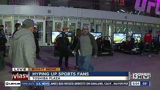 Ultimate Sports Weekend a cause for celebration in Las Vegas - Video