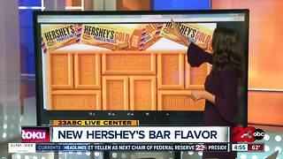 Newest Hershey's Flavor since 1995: Gold - Video