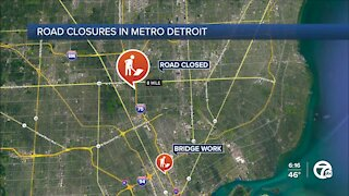 Freeway construction ongoing in metro Detroit