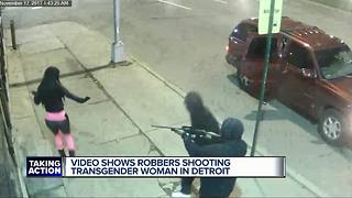 Transgender woman shot in Detroit, suspects on the loose