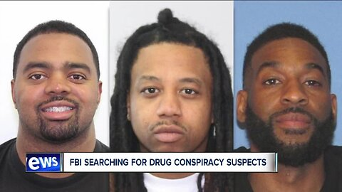 3 people remain at-large following arrests in drug ring that shipped drugs from California to Cleveland