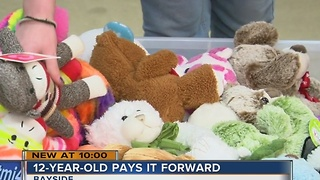 Local woman, house fire survivor, collects stuffed animals for fire victims - Video