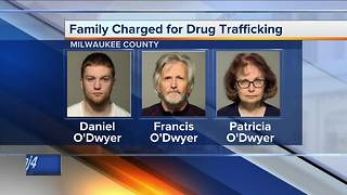 Family charged for running suspected drug house after double stabbing - Video