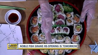 Noble Fish to hold its grand re-opening