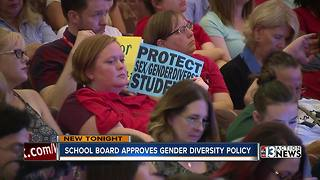 UPDATE: CCSD board approves controversial gender diversity policy