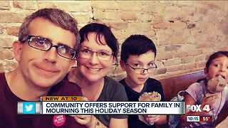 Alva family surprised with holiday cheer after tragedy