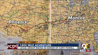 1,800 mile adventure - Video