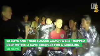 Thai Soccer Team Rescued from Cave