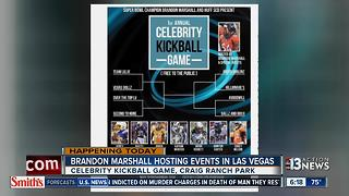 Broncos' Brandon Marshall hosting events in Las Vegas - Video