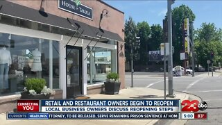 Retail and restaurant businesses begin reopening in Kern County