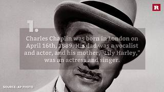 5 facts about Charlie Chaplin | Rare People - Video