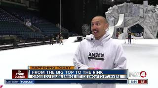 Cirque Du Soleil brings first ice show to Fort Myers - Video