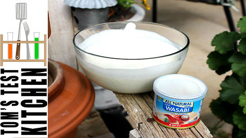 How to make wasabi ranch dressing