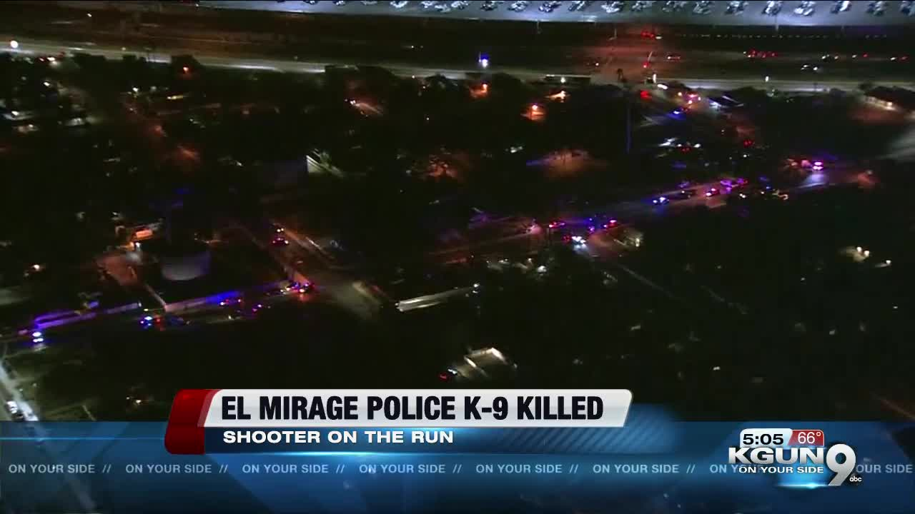 El Mirage police K-9 shot, killed during officer-involved shooting