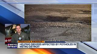 Helping drivers affected by potholes during pothole payout