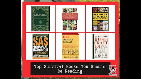 Top Survival Books You Should Be Reading