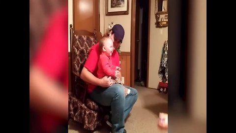 Baby Playing with Grandma is SO CUTE