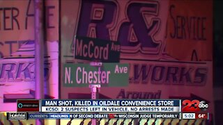 Man Shot, Killed in Oildale Convenience Store