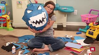 How to make a shark pinata with Elissa the Mom | Rare Life - Video