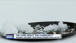 Buffalo Border Patrol: Turning snowballs into donations