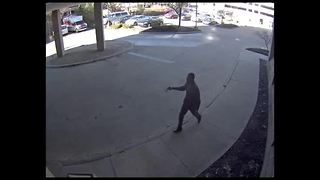 Surveillance video of hospital shooting - Video