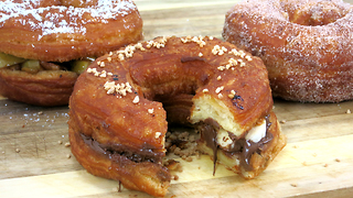 Croissant-donut hybrid sandwich will blow your mind