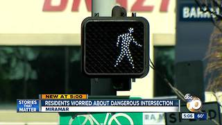 Intersection concerns Mira Mesa residents - Video