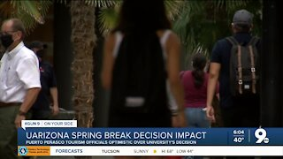 Puerto Peñasco tourism officials optimistic over UArizona spring break changes