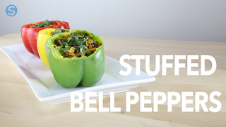 How to make stuffed bell peppers - Video