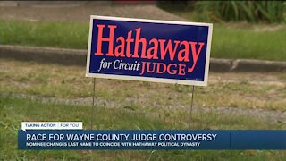 Candidate for Wayne County judge insists he didn't change his name to fool voters