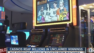 Nevada reaps $35M in 5 years from unclaimed casino winnings - Video