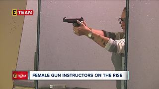 Female Gun Instructors on the rise - Video