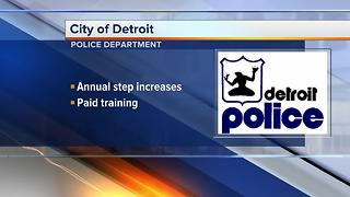 Workers Wanted: Detroit Police Department is hiring - Video