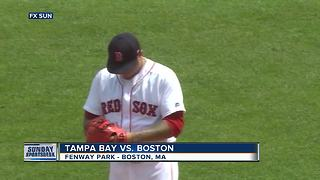 Tampa Bay Rays combine on 2-hitter to blank Boston Red Sox 2-0 - Video