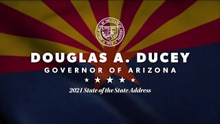 Governor Ducey Delivers State Of The State Address, Outlines 2021 Priorities